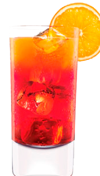 Cocktail Campari Orange